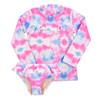 Rashguard Set - Cotton Candy Tie Dye