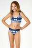 picture of SG06D-163 -reversible bikini - pink & navy tie dye