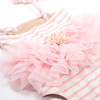 picture of SG01F-175 -1pc w. skirt - beach bunny stripe