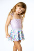 picture of SG01A-188 -ribbed 1pc w. rainbow paillette skirt - lilac