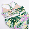 picture of ST06C-189 -tie back bikini - tropical oasis