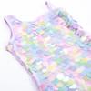 picture of SG01B-187 -1 shoulder - tie dye paillettes