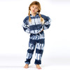 Shade Critters Terry Jogger Pant- Navy Tie Dye front