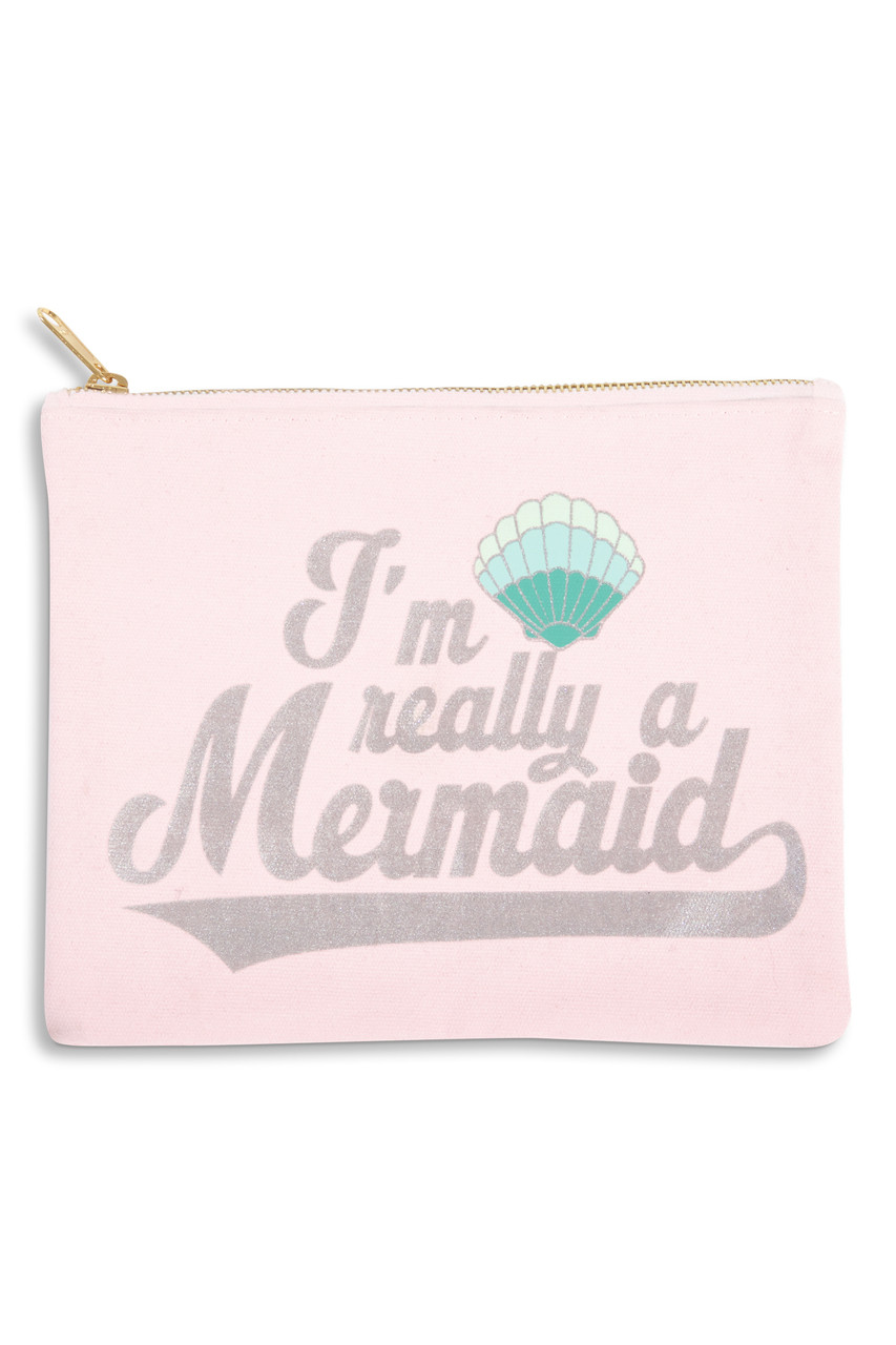 Travel Pouch I M Really A Mermaid Shade Critters