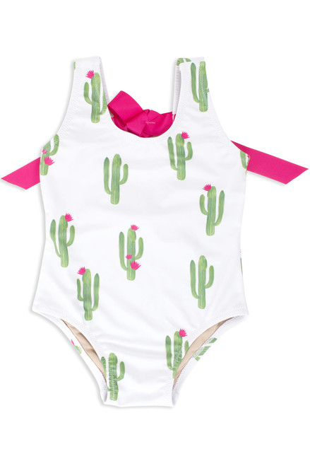 Stuck On You Cactus Scoop Swimsuit  by Shade Critters UPF50