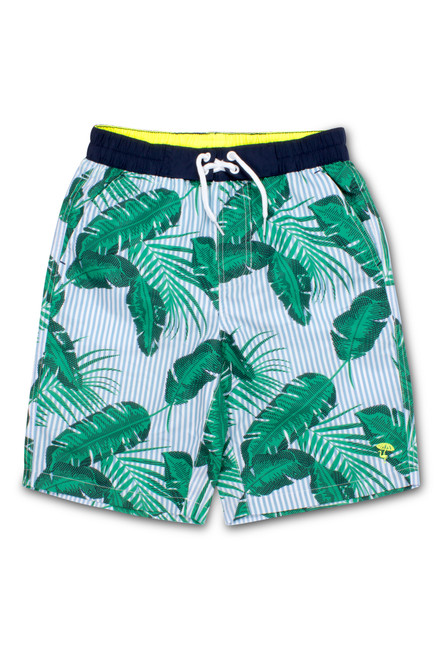Cabana Botanical Swim Shorts  by Shade Critters UPF50