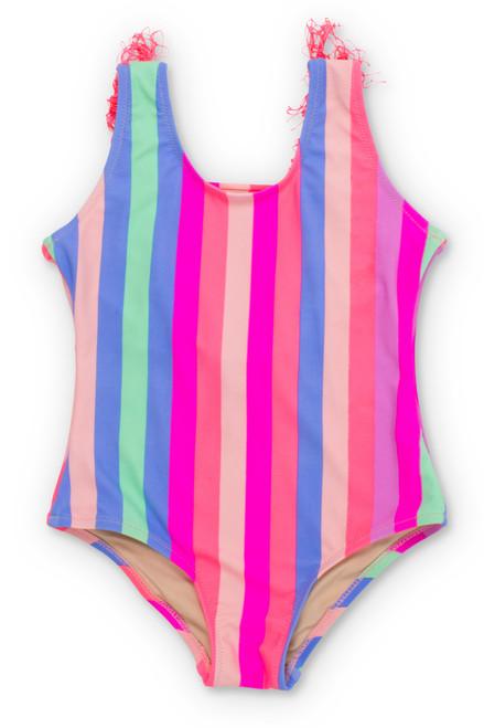 1pc-rainbow stripe-fringe.