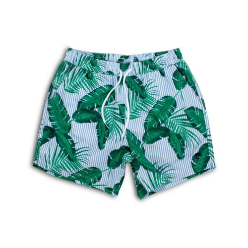 Men's Cabana Botanical Swim Shorts by Shade Critters UPF50