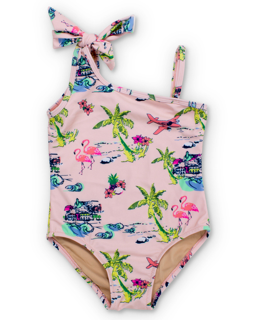 Picture of Tiki One Shoulder Swimsuit