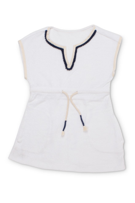 terry coverup-white