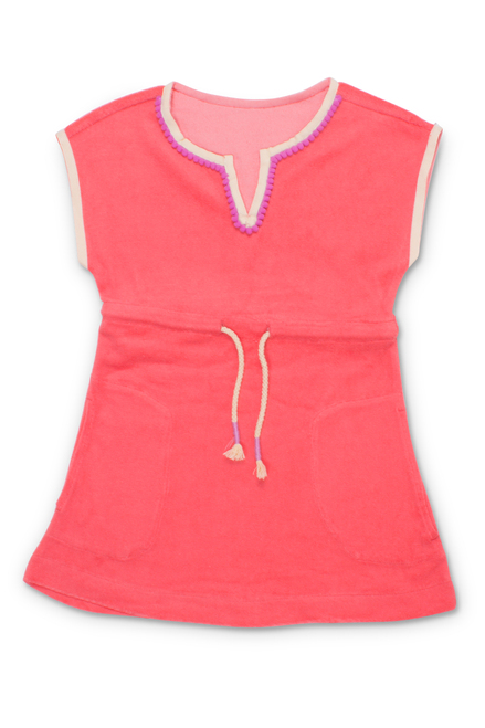 terry coverup-coral