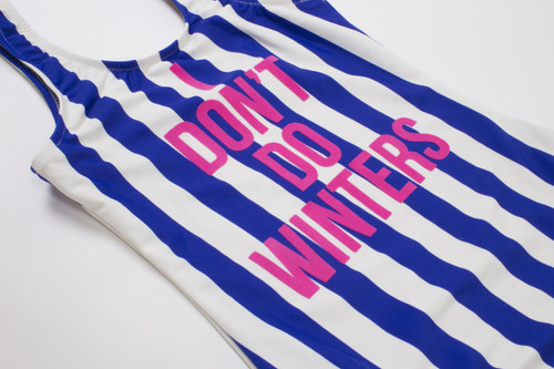 I Don't Do Winters - Scoop Swimsuit