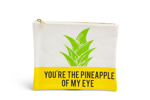 You're the Pineapple of my Eye printed pouch
