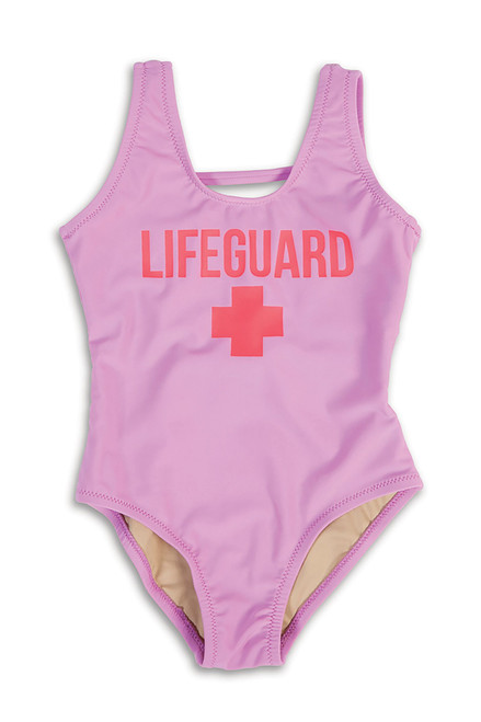 Lifeguard Lilac Scoop One Piece