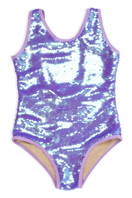 One Piece Flip Sequin - Purple