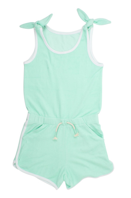 Terry Romper - Mint