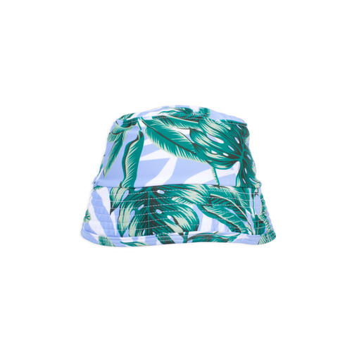 picture of SA-HAT-157 -bucket hat - blue palm