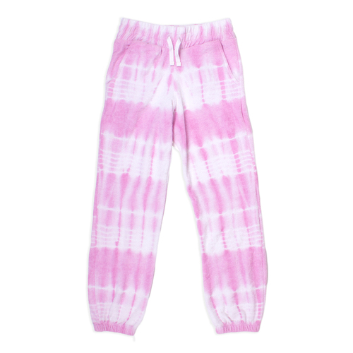 Shade Critters Terry Jogger Pant- Pink Tie Dye