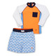 Toddler Boys - New Wave UPF 50+ Rashguard Set