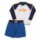 Water Appearing Shark Rashguard Set  by Shade Critters UPF50