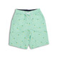 Youth Boys - Water Appearing Pineapple - UPF 50 Swim Trunks