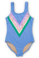 It's All Rainbows Scoop Swimsuit  by Shade Critters UPF50