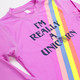 I'm Really a Unicorn Rashguard (Unicorn changes color in the sun)  by Shade Critters UPF50
