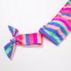 Women's Chasing Rainbows Stripe Bikini Set  by Shade Critters UPF50 Alt Image