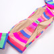 Women's Chasing Rainbows Stripe Bikini Set  by Shade Critters UPF 50 Alt image 2