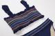 Women's Rainbow Smocked Bikini Set  by Shade Critters UPF 50 Alt image 2