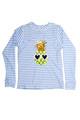 pic of RG Set Flip Sequins - Pineapple Blue Pinstripe