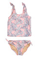Tankini - Pink Monstera