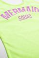 "pic of One Piece tank suit- neon citron ""mermaid squad"" suit"