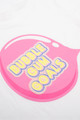 pic of Cotton scented tee shirt  - bubble gum goals white