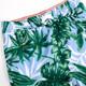 Detail of 4 Way Stretch Boys Swim Trunks- Blue Tropical