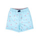 Water Appearing Sharks - Boys 4 Way Stretch Swim Trunks