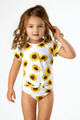 picture of SG02A-192 -baby t rashguard set - sunflower