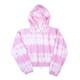 Terry Jogger Hoodie- Pink Tie Dye
