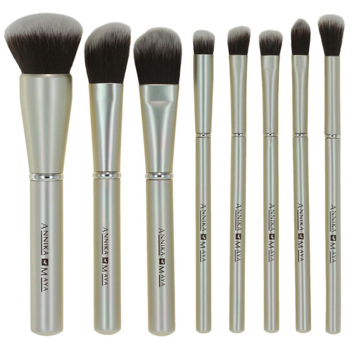 8 pc Brush Set - Champagne Kisses