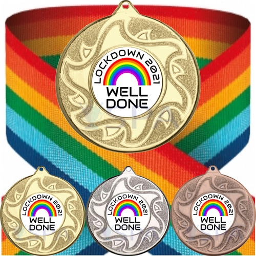 Lockdown 2021 Well Done Medal