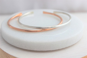 Stella - round cuff • silver or gold