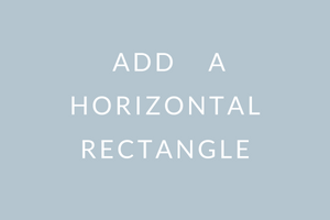 add on horizontal rectangle