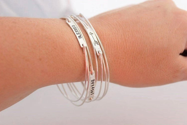bangle • classic rectangle