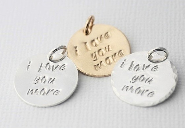 i love you more disc • gold or silver