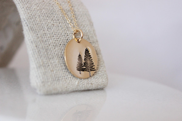 Evergreen • Strength necklace