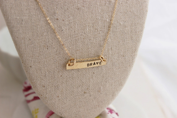 Bar necklace - RTS