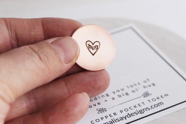 Love + Hug pocket token