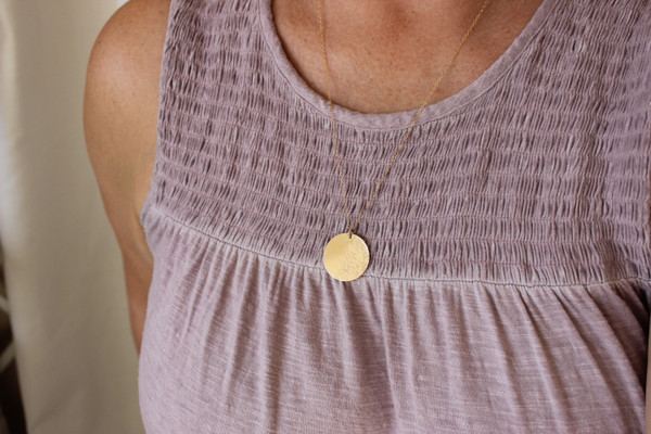 Blanca Necklace | gold