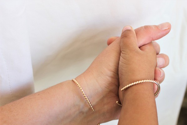 Mommy + Me | Twisted Cuff bracelets