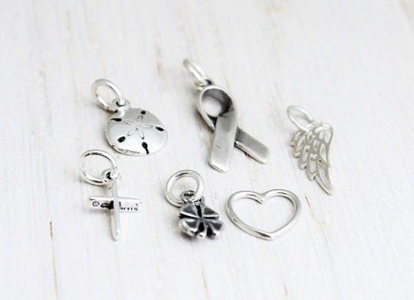 sterling silver tiny charms